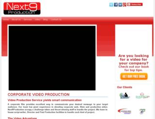 next9production.com screenshot