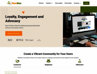 nextbee.com screenshot