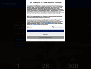 nextbike.net screenshot