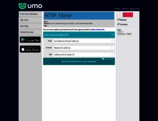 nextbus.com screenshot