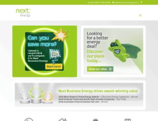 nextbusinessenergy.com.au screenshot