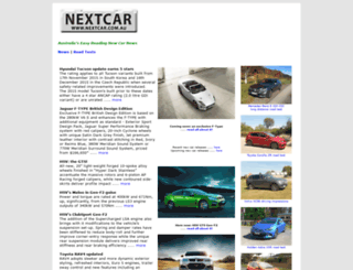nextcar.com.au screenshot
