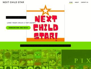 nextchildstar.com screenshot
