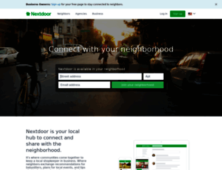 nextdoor.com screenshot