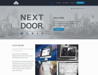 nextdoormedia.com.au screenshot