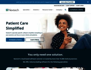 nextech.com screenshot