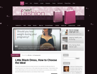 nextfashionblog.com screenshot
