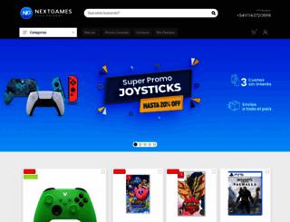 nextgames.com.ar screenshot