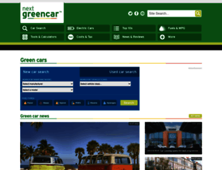 nextgreencar.com screenshot
