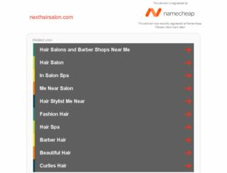 nexthairsalon.com screenshot