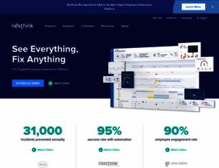 nexthink.com screenshot