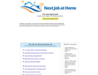 nextjobsathome.com screenshot