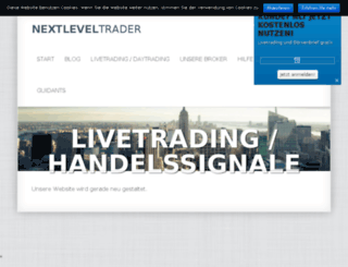 nextleveltrader.de screenshot