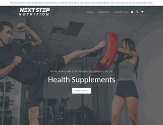 nextstepnutrition.com screenshot