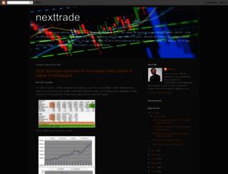 nexttrade.blogspot.com screenshot
