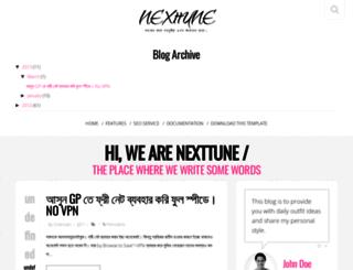 nexttunes.blogspot.com screenshot