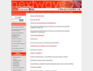 nextwave.universia.net screenshot