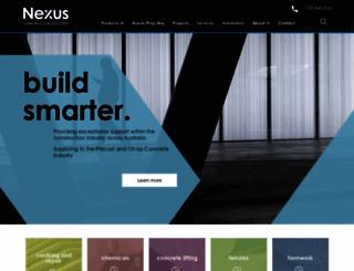 nexus.com.au screenshot