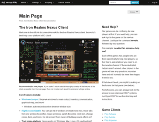 nexus.ironrealms.com screenshot