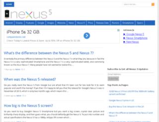 nexus5price.com screenshot