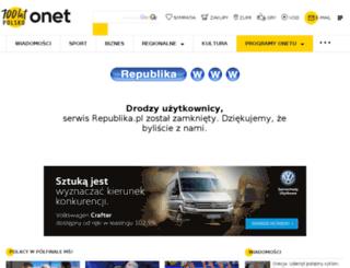 nexusband.republika.pl screenshot