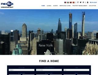 nexusinternationalrealty.com screenshot
