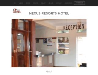 nexusresorts.net screenshot