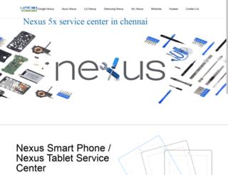 nexusservicecenter.com screenshot