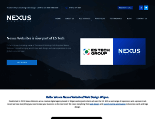 nexuswebsites.co.uk screenshot