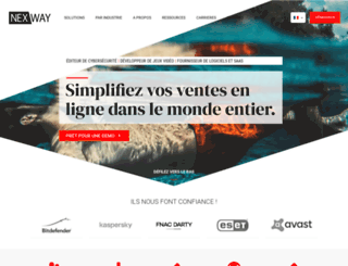 nexway.fr screenshot