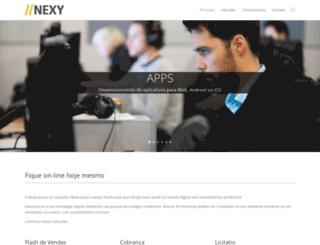 nexy.com.br screenshot