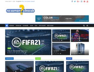 nezamancikacak.com screenshot