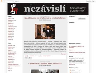 nezavisli.blogspot.sk screenshot