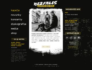 nezfales.cz screenshot