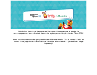 nezrougesaguenay.com screenshot