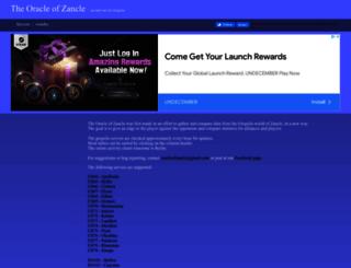 nf-oracle.com screenshot