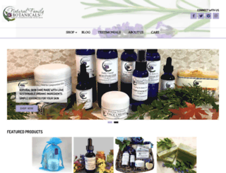 nfbotanicals.com screenshot