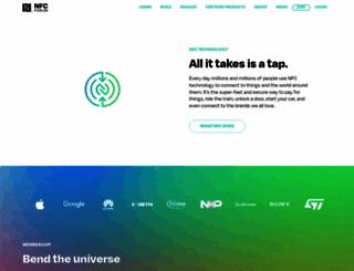 nfc-forum.org screenshot