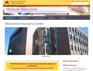 nfc.umn.edu screenshot
