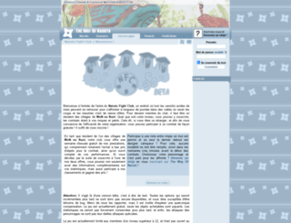nfc.wonaruto.com screenshot