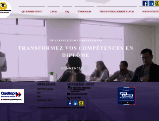 nfconsulting.fr screenshot