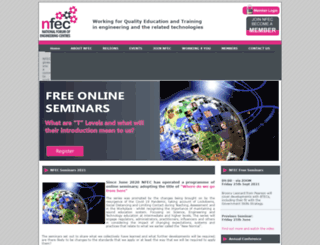 nfec.org.uk screenshot