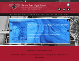 nfhs.fortmillschools.org screenshot