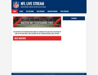 nfl-stream.com screenshot