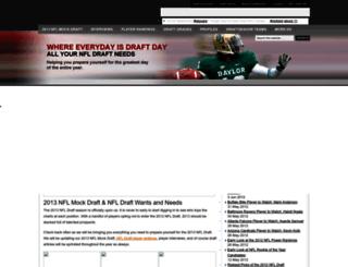 nfldraftseason.com screenshot