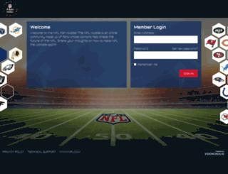 nflfanhuddle.com screenshot