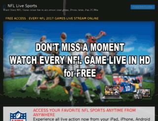 nfllivesports.com screenshot