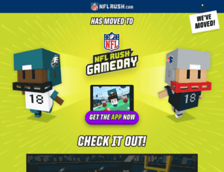 nflrush.com screenshot