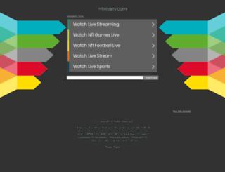 nflvitaltv.com screenshot