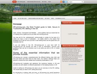 nflwinning.com screenshot
